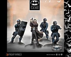 Batman Miniature Game: Commissioner Gordon & Swat Team Starter Knight Models