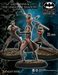 Batman Miniature Game: Lady Shiva & the League of Shadows Knight Models