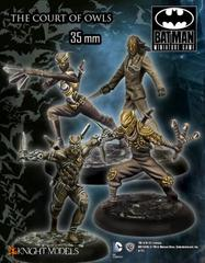 Batman Miniature Game: The Court of Owls Knight Models