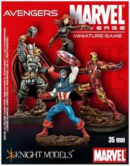Marvel Universe Miniature Game: Avengers Starter Set Knight Models