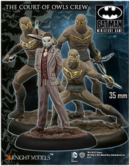 Batman Miniature Game: The Court of Owls Crew Knight Models