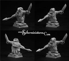 Fantasy Miniatures: Dwarf Ranger #4 (1) Scibor Monstrous Miniatures