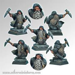 Fantasy Miniatures: Dwarf Miner #4 Scibor Monstrous Miniatures