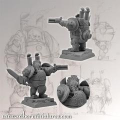 Fantasy Miniatures: Dwarf Steam Armor #2 Scibor Monstrous Miniatures