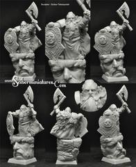 Fantasy Miniatures: Dwarf Durgim Scibor Monstrous Miniatures