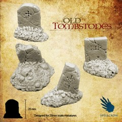 Fantasy Miniatures: Old Tombstones Spellcrow