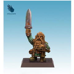 Fantasy Miniatures: Gnome w/ Crossbow and Sword Spellcrow