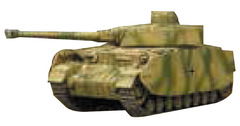 Tanks Miniatures Game: German Panzer IV Battlefront
