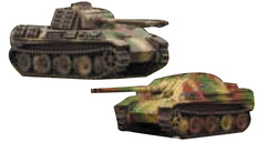 Tanks Miniatures Game: German Panther and Jagpanther Battlefront