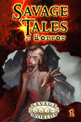 Savage Worlds RPG: PRESALE Savage Tales of Horror - Volume 1 LE Pinnacle