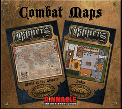 Savage Worlds RPG: Rippers Resurrected - Map 3: World of Rippers/Lodge Pinnacle
