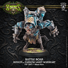 Hordes: PRESALE Minions Battle Boar Farrow Light Warbeast (plastic) Privateer 35071