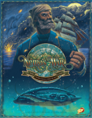 Nemo's War: 2nd Edition board game + nautilus upgrade pack + cloth bundle Victory Point