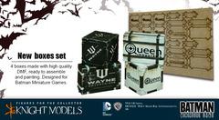 Batman Miniature Game: Scenery - Boxes Knight Models