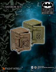 Batman Miniature Game: Scenery - Safe Boxes (set of 2) Knight Models