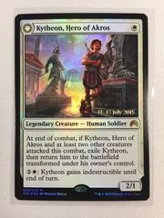 FOIL Prerelease Kytheon, Hero of Akros // Gideon, Battle-Forged