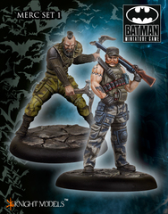 Batman Miniature Game: Mercs Set I Knight Models