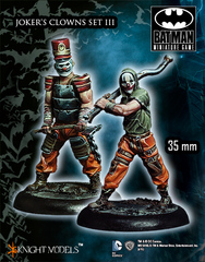 Batman Miniature Game: Joker's Clowns Set III Knight Models