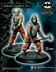 Batman Miniature Game: Joker's Clowns I Knight Models