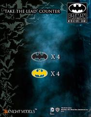 Batman Miniature Game: Take the Lead Counter Knight Models