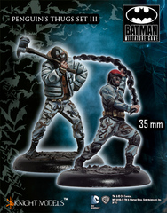 Batman Miniature Game: Penguin Thugs III Knight Models