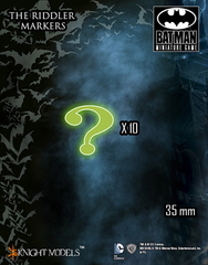 Batman Miniature Game: The Riddler Markers (10) Knight Models