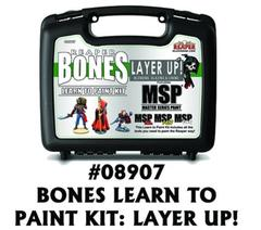 Reaper Bones: Learn to Paint Kit 2 - Layer Up