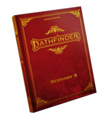 Pathfinder RPG: PRESALE Bestiary 3 2nd edition P2 special cover paizo