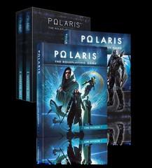 Polaris RPG roleplaying game: base/core rulebook hardcover set in slipcase