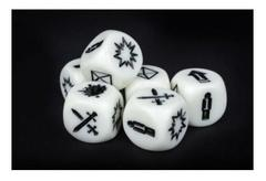 Deadzone 2nd Edition: Command Dice Mantic