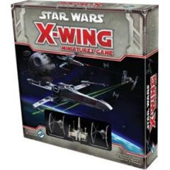 Star Wars X-Wing miniatures game base/core starter set fantasy flight
