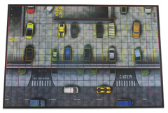 HeroClix: 2016 Collector`s Premium Map - Parking Garage Wizkids