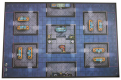 HeroClix: 2016 Collector`s Premium Map - Wizkids Office Wizkids