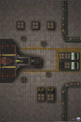 HeroClix: Premium Map - Factory Wizkids
