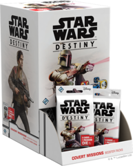 Star Wars Destiny Dice Building Game: PRESALE Covert Missions Booster Pack Display (36-count)