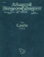 AD&D Dungeons & Dragons RPG: The Castle Guide TSR