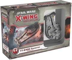 Star Wars X-Wing miniatures game YT-2400 Freighter expansion fantasy flight
