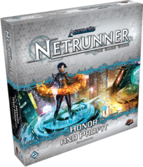Android Netrunner LCG: Honor and Profit expansion set