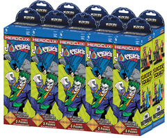 DC Heroclix: The Joker's Wild! Booster Brick Wizkids