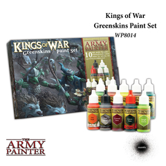 Warpaints: Kings of War Greenskins Paint Set (10) The Army Painter