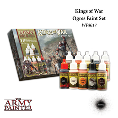 Warpaints: Kings of War Ogres Paint Set (10) The Army Painter