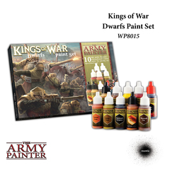Warpaints: Kings of War Dwarves Paint Set (10) The Army Painter