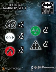 Batman Miniature Game: Effects Markers 1 (10) Knight Models
