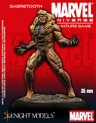 Marvel Universe Miniature Game: Sabretooth Knight Models