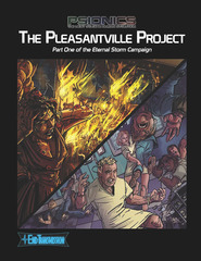 Eternal Storm Campaign: PRESALE The Pleasantville Project End sourcebook Transmission Games