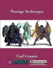 Pathfinder RPG: PRESALE Prestige Archetypes 4 supplement Winds Fantasy