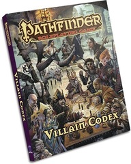 Pathfinder RPG: Villain Codex Hardcover Paizo