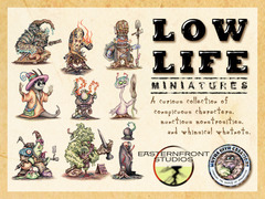 Low Life Miniatures: PRESALE Funguys - Mutha Oith Creations