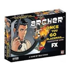 Love Letter: Archer Once You Go Blackmail Boxed Edition AEG