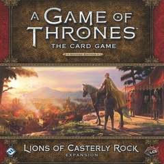 A Game of Thrones LCG: 2nd edition (2015) Lions of Casterly Rock deluxe expansion FFG